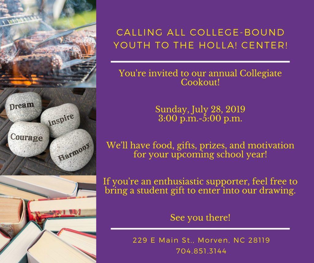 Collegiate Cookout 2019
