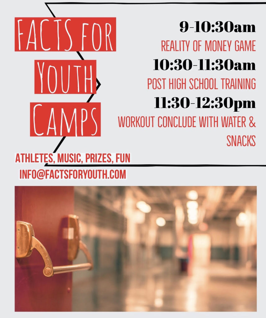 FACTS for Youth Camps is Coming to HOLLA!