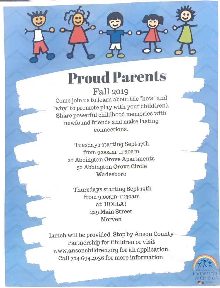 """HOLLA! To Host """"Proud Parent"""" Support And Play Group on Thursdays"""